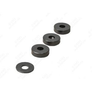 Комплект проставок для установки 2 кронштейнов стального топливного бака (на косую раму) к а/м Камского автомобильного завода 5490; 5490 NEO